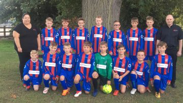Proud sponsors of the Ledbury Swifts under 12s